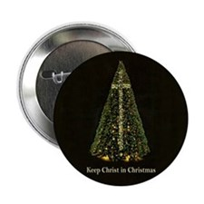 KEEP CHRIST IN CHRISTMAS -Button (10 pack)