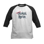 Camel Lover Kids Baseball Jersey