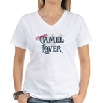 Camel Lover Women's V-Neck T-Shirt