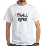 Camel Lover White T-Shirt