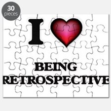 I Love Being Retrospective Puzzle
