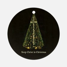 KEEP CHRIST IN CHRISTMAS - Keepsake / Ornament