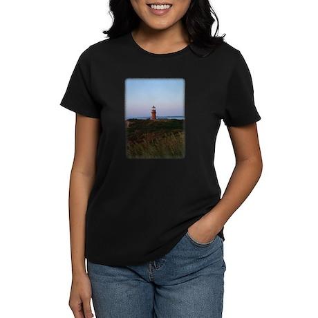 Sunset Lighthouse Women's Dark T-Shirt