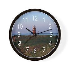 Sunset Lighthouse Wall Clock