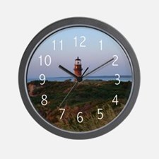 Sunset Lighthouse Wall Clock