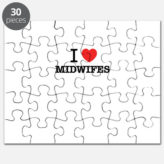 I Love MIDWIFES Puzzle