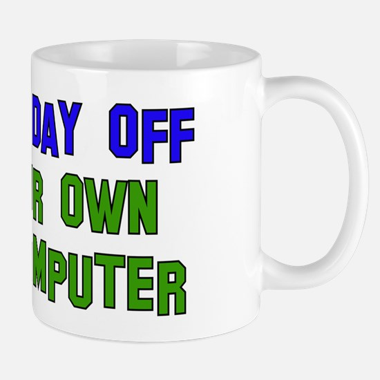 Won't Fix Computer Mug