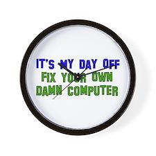 Won't Fix Computer Wall Clock