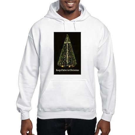 KEEP CHRIST IN CHRISTMAS - Hooded Sweatshirt