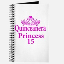 15th Birthday Quinceanera Princess Ladies Journal