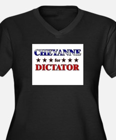CHEYANNE for dictator Women's Plus Size V-Neck Dar