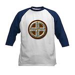 Shield Knot 1 Kids Baseball Jersey