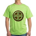 Shield Knot 1 Green T-Shirt