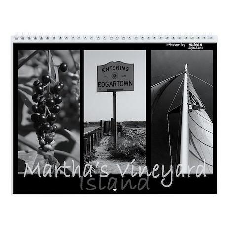 Martha's Vineyard Island Wall Calendar