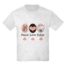 Peace Love Poker T-Shirt