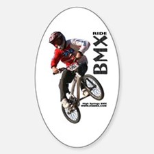 HSBMX680c Oval Decal