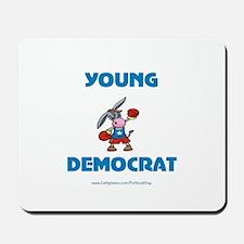 Young Democrat Mousepad