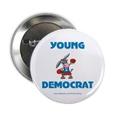 """Young Democrat 2.25"""" Button"""