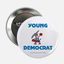 "Young Democrat 2.25"" Button (10 pack)"