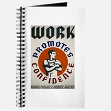 Work Promotes Confidence Journal