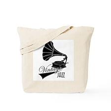 Vintage Jazz Gramophone - Tote Bag