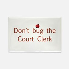 Court Clerk Rectangle Magnet (10 pack)