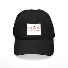 Court Clerk Baseball Hat