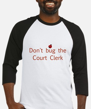 Court Clerk Baseball Jersey