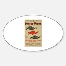 Junior Prom Oval Decal