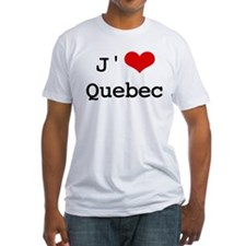 J' [heart] Quebec Shirt