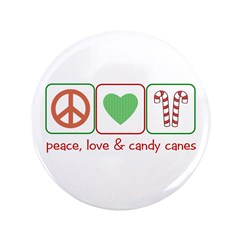 Peace Love Candy Canes 3.5