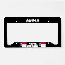 Ayden NC License Plate Holder