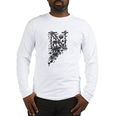 Letter N Long Sleeve T-Shirt