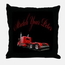 Stretch Your Peter Throw Pillow