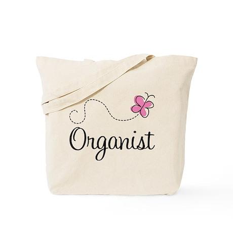 Cute Organist Tote Bag