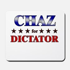 CHAZ for dictator Mousepad