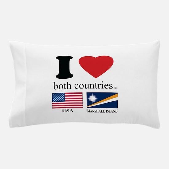 USA-MARSHALL ISLAND Pillow Case