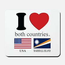 USA-MARSHALL ISLAND Mousepad