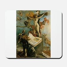 Félicien Rops The Temptation of Saint Anthony Mous