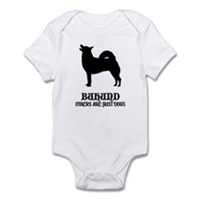 Norwegian Buhund Infant Bodysuit