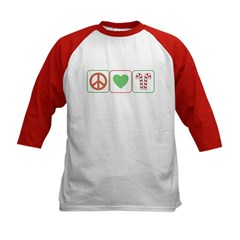 Peace Love Candy Canes Tee