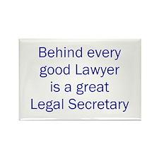 Legal Secretary Rectangle Magnet (10 pack)