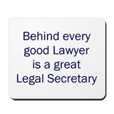 Legal Secretary Mousepad