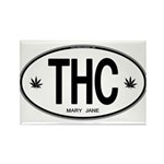 THC Rectangle Magnet