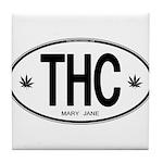 THC Tile Coaster