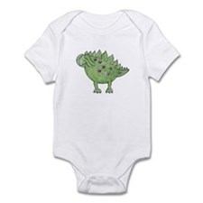 Cute Barney the dinosaur Infant Bodysuit