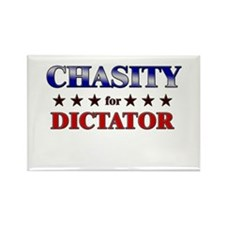 CHASITY for dictator Rectangle Magnet