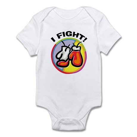 I Fight Boxing Infant Bodysuit