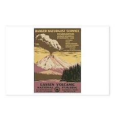Mt. Lassen N.P. Postcards (Package of 8)