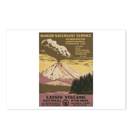 Mt. Lassen N.P. Postcards (Package of 8)